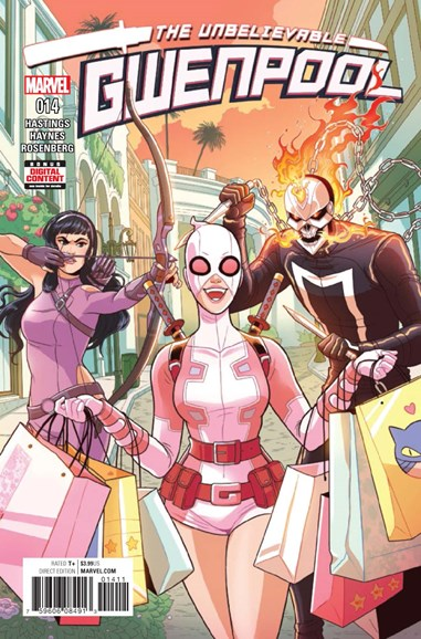 The Unbelievable Gwenpool Cover - 6/1/2017