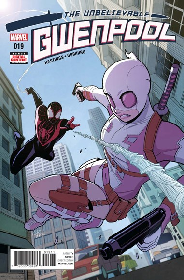 The Unbelievable Gwenpool Cover - 10/1/2017
