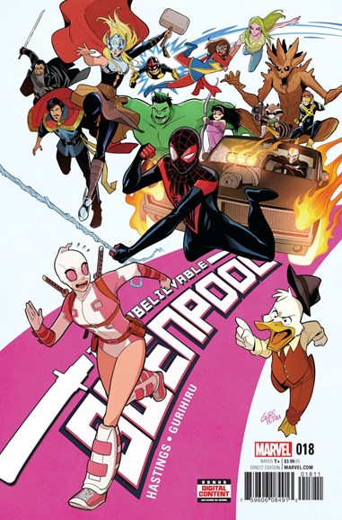 The Unbelievable Gwenpool Cover - 9/1/2017