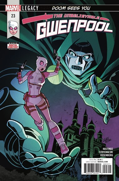 The Unbelievable Gwenpool Cover - 2/1/2018