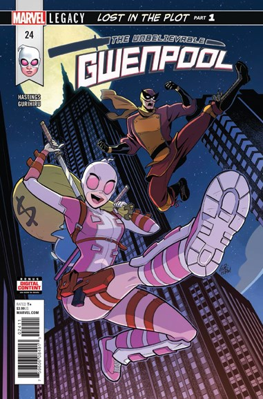 The Unbelievable Gwenpool Cover - 3/1/2018