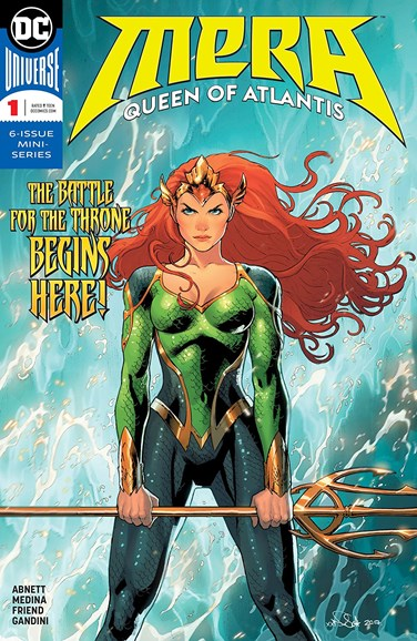 Mera: Queen of Atlantis Cover - 4/1/2018