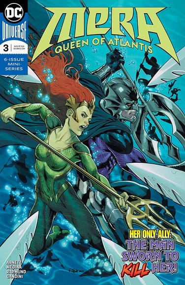 Mera: Queen of Atlantis Cover - 6/1/2018