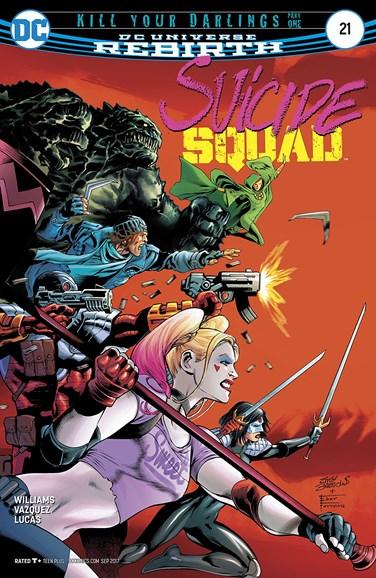 Suicide Squad Cover - 9/1/2017