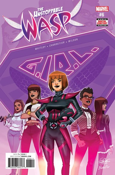 Unstoppable Wasp Cover - 8/1/2017