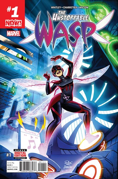 Unstoppable Wasp Cover - 3/1/2017