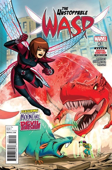 Unstoppable Wasp Cover - 5/1/2017