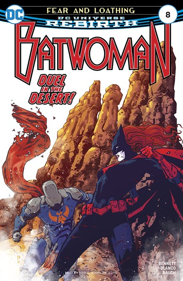 Batwoman Cover - 12/1/2017