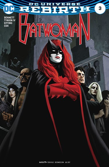 Batwoman Cover - 7/1/2017