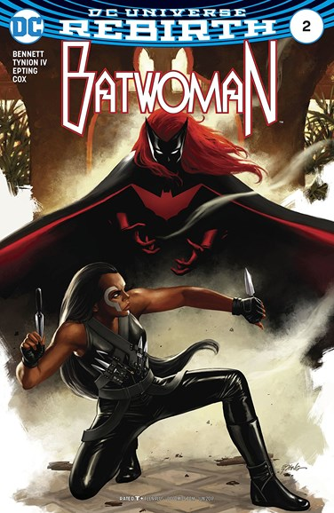 Batwoman Cover - 6/1/2017