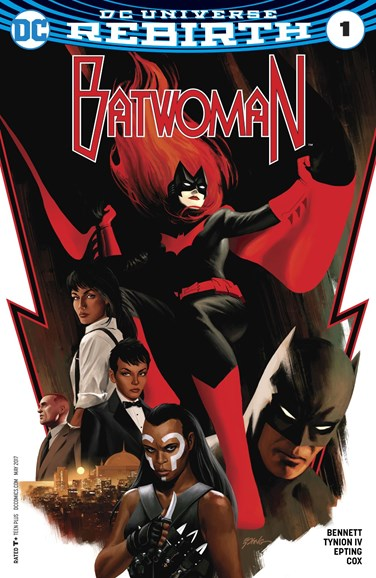 Batwoman Cover - 5/1/2017