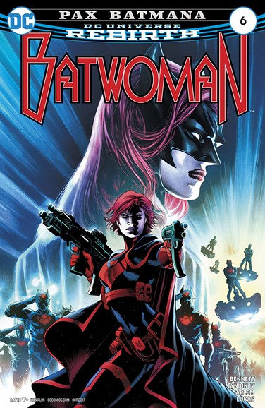 Batwoman Cover - 10/1/2017