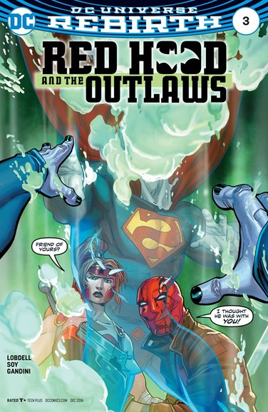 Red Hood and the Outlaws Cover - 12/1/2016