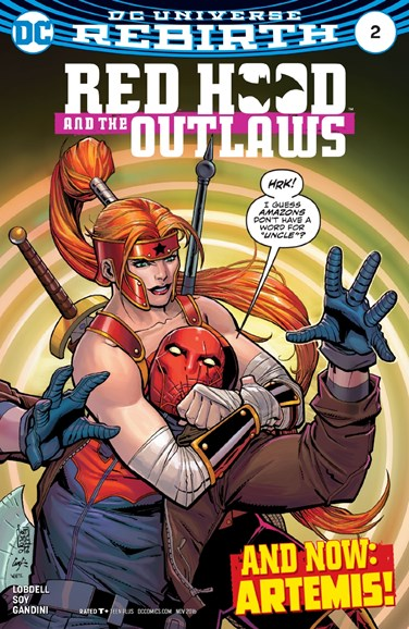 Red Hood and the Outlaws Cover - 11/1/2016