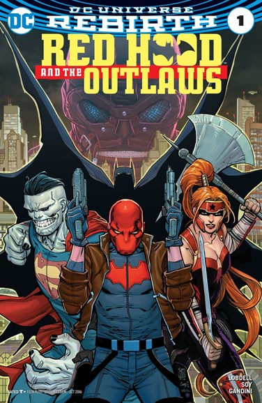 Red Hood and the Outlaws Cover - 10/1/2016