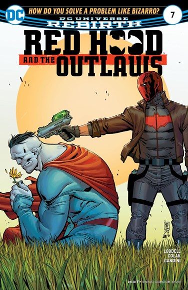 Red Hood and the Outlaws Cover - 4/1/2017