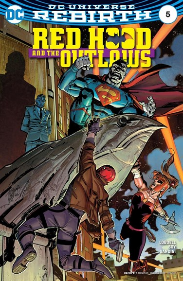 Red Hood and the Outlaws Cover - 2/1/2017