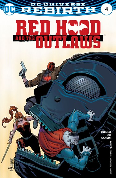 Red Hood and the Outlaws Cover - 1/1/2017