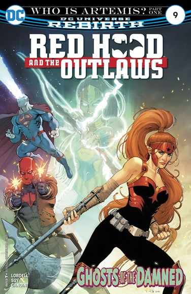 Red Hood and the Outlaws Cover - 6/1/2017