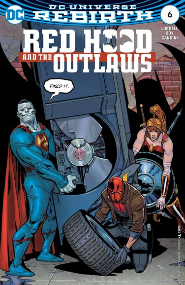 Red Hood and the Outlaws Cover - 3/1/2017