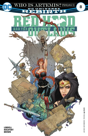 Red Hood and the Outlaws Cover - 5/1/2017