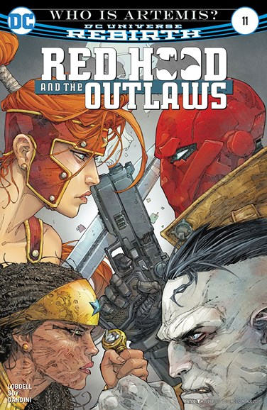 Red Hood and the Outlaws Cover - 8/1/2017