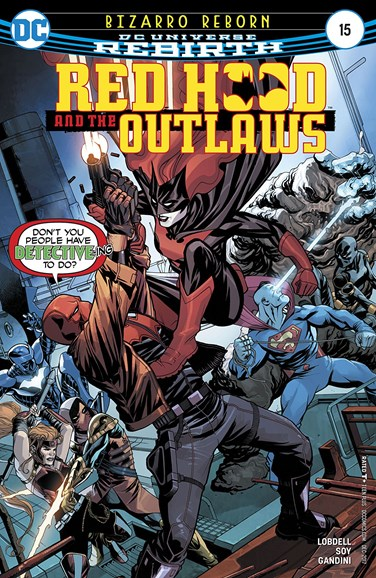 Red Hood and the Outlaws Cover - 12/1/2017