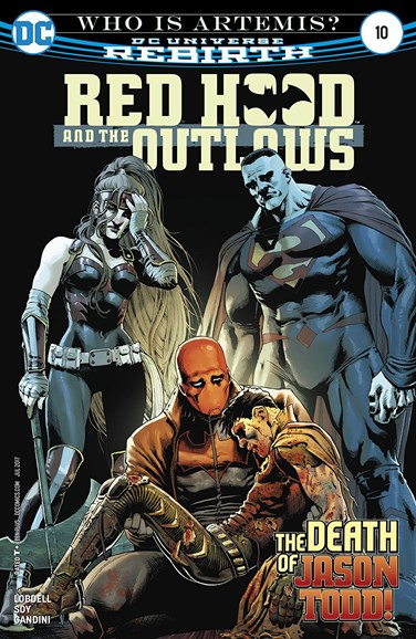 Red Hood and the Outlaws Cover - 7/1/2017