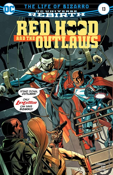 Red Hood and the Outlaws Cover - 10/1/2017