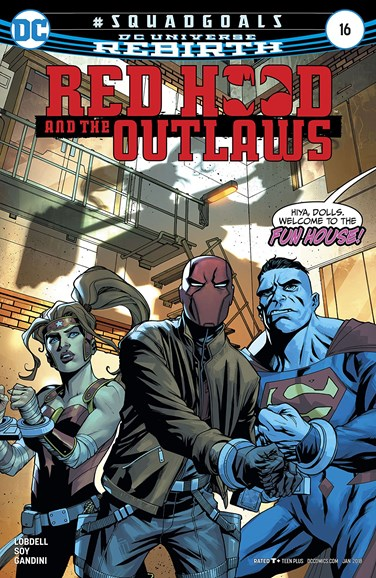 Red Hood and the Outlaws Cover - 1/1/2018