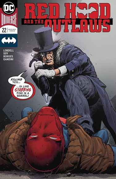Red Hood and the Outlaws Cover - 7/1/2018