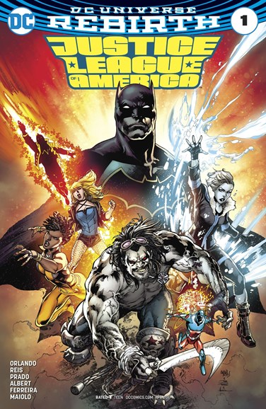 Justice League of America Cover - 4/1/2017