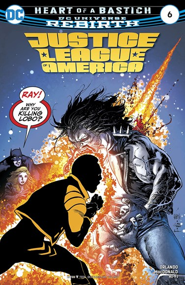 Justice League of America Cover - 7/1/2017