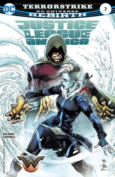 Justice League of America Cover - 7/15/2017