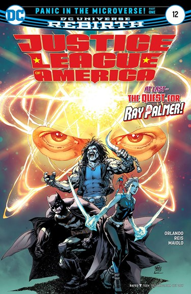Justice League of America Cover - 10/1/2017