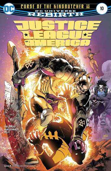 Justice League of America Cover - 9/1/2017