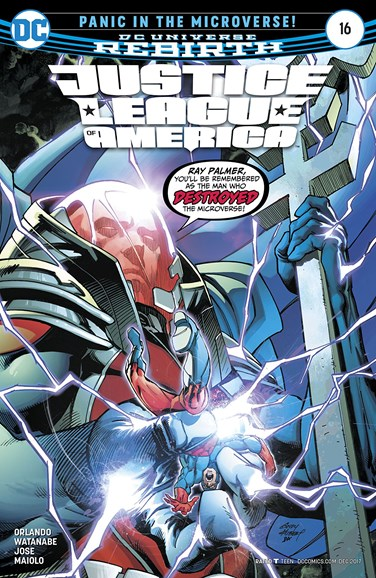 Justice League of America Cover - 12/1/2017