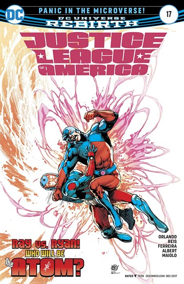 Justice League of America Cover - 12/15/2017
