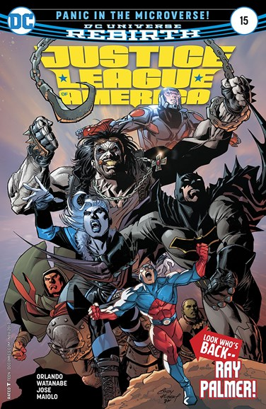 Justice League of America Cover - 11/15/2017