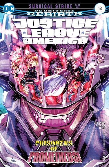 Justice League of America Cover - 1/1/2018