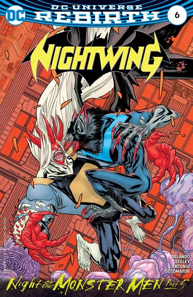 Nightwing Cover - 12/1/2016
