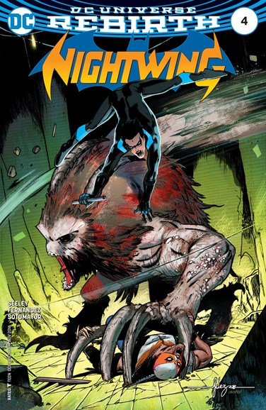 Nightwing Cover - 11/1/2016