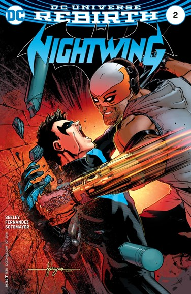 Nightwing Cover - 10/1/2016