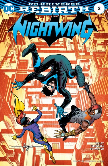 Nightwing Cover - 10/15/2016