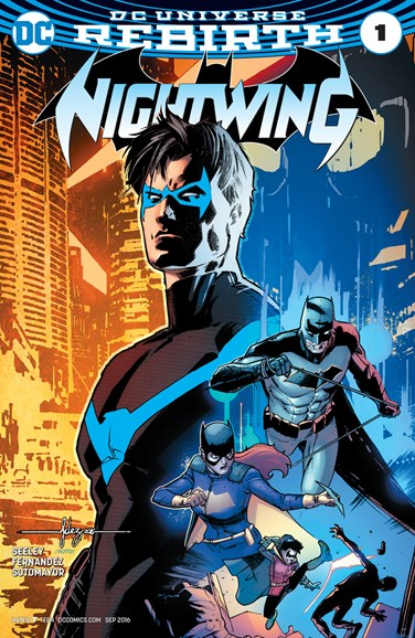 Nightwing Cover - 9/1/2016