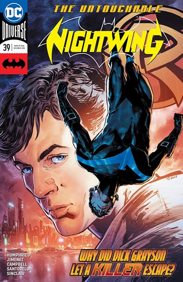 Nightwing Cover - 4/15/2018