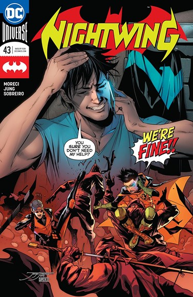Nightwing Cover - 6/15/2018
