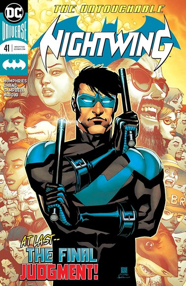 Nightwing Cover - 5/15/2018
