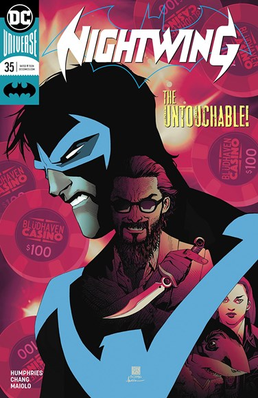 Nightwing Cover - 2/15/2018