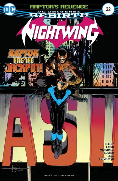 Nightwing Cover - 1/1/2018